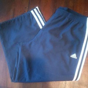 Adidas 3 Stripes Crop Pant